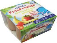 Nestle Health  Science Frisfruitje appel banaan aardbei