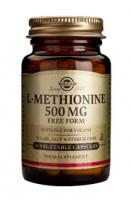 Solgar L-Methionine 500 mg vegetable capsules
