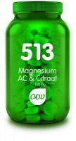 AOV 513 Magnesium AC & Citraat 180 tabletten