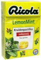 Ricola Lemon mint suikervrij
