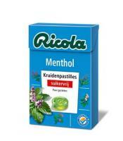 Ricola Menthol suikervrij