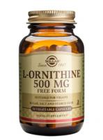 Solgar L-Ornitine 500 mg vegetable capsules