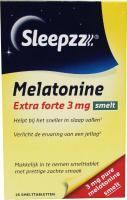Sleepzz Melatonine extra forte 3 mg smelt