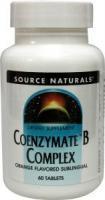 Source Naturals  Co-enzymate B complex zuigtablet orange