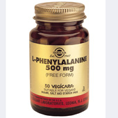 Solgar L-Phenylalanine 500 mg vegetable capsules