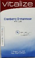 Vitalize Products D-mannose cranberry weekkuur
