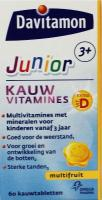 Davitamon Junior 3+ multifruit