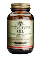 Solgar Cod Liver Oil (levertraan) Norwegian, softgels