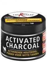 Lucovitaal Activated charcoal voor wittere tanden