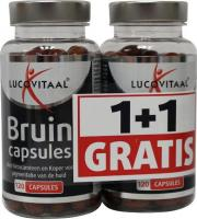 Lucovitaal Bruin 2 x 120 capsules