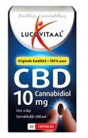 Lucovitaal Cannabidiol CBD 10 mg forte capsules