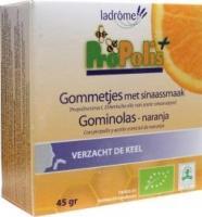 Ladrome ProPolis bio sinaasappel gommetjes