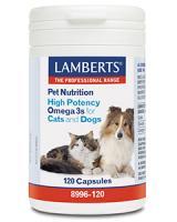 Lamberts Omega 3 voor dieren hond en kat