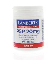Lamberts P5P 20 mg Vit B6