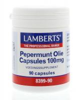Lamberts Pepermuntolie 100 mg