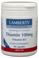 Lamberts Thiamin 100 mg vitamine B1