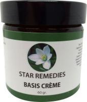 Star remedies Basis creme 100% natuurlijk