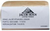 Jacob Hooy Aloe stukjes