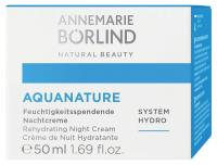 Annemarie Borlind Aquanature hydraterende nachtcreme