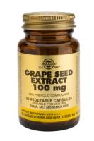 Solgar Grape Seed (druivenpit) Extract 100 mg vegetable capsules