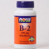 NOW Vitamine B-2 100 MG