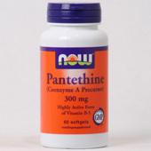 NOW Pantethine (Coenzym A precursor)  300 mg.