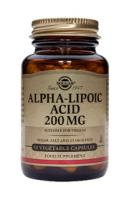 Solgar Alpha Lipoic Acid (liponzuur) 200 mg vegetable capsules