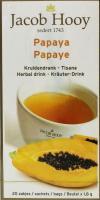 Jacob Hooy Papaya theezakjes gold