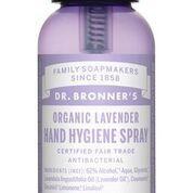 DR Bronners Hand hygiene spray lavendel