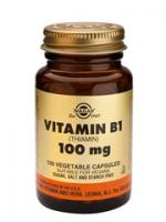Solgar Vitamin B-1 (Thiamine) 100 mg