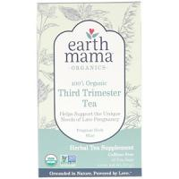 Earth Mama Earth Mama, 100% Organic Third Trimester Tea, Fragrant Herb Mint, 16 theezakjes, 37 g