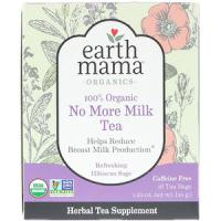 Earth Mama Earth Mama, 100% Organic No More Milk Tea, Refreshing Hibiscus Sage, 16 theezakjes, 35 g (35 g)