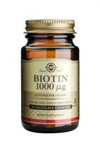 Solgar Biotin 1000 Ug vegetable capsules