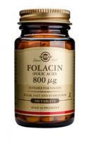Solgar Folacin (foliumzuur) 800 Ug tablets
