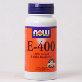 NOW Vitamine E-400 d-alpha Tocopherol
