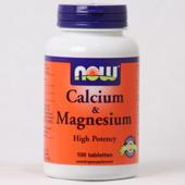 NOW Calcium & Magnesium