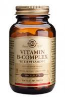 Solgar Vitamin B-complex with C tablets
