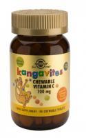 Solgar Kangavites Vitamine C 100 mg kauwtabletten
