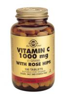 Solgar Vitamin C with Rose Hips 1000 mg tablets