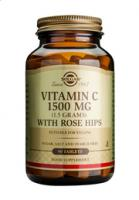 Solgar Vitamin C with Rose Hips 1500 mg tablets