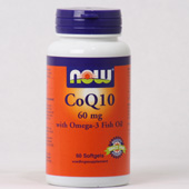 NOW CoQ10 60 mg with Omega-3