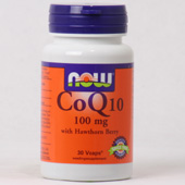 NOW CoQ10 100 mg with Hawthon berry