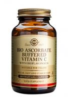 Solgar Bio Ascorbate Buffered Vitamin C vegetable capsules (niet zuur)