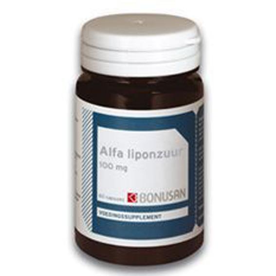 Bonusan Alfa liponzuur 100 mg