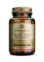 Solgar Vitamin E With Selenium vegetable capsules