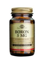 Solgar Boron 3 mg vegetable capsules