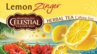 Celestial Seasonings Lemon Zinger Herb Tea