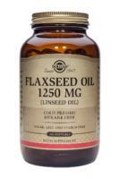 Solgar Flaxseed Oil 1250 mg.(lijnzaadolie) softgels