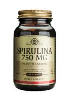 Spirulina 750 mg tablets