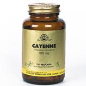 Solgar Cayenne (Spaanse peper) vegetable capsules